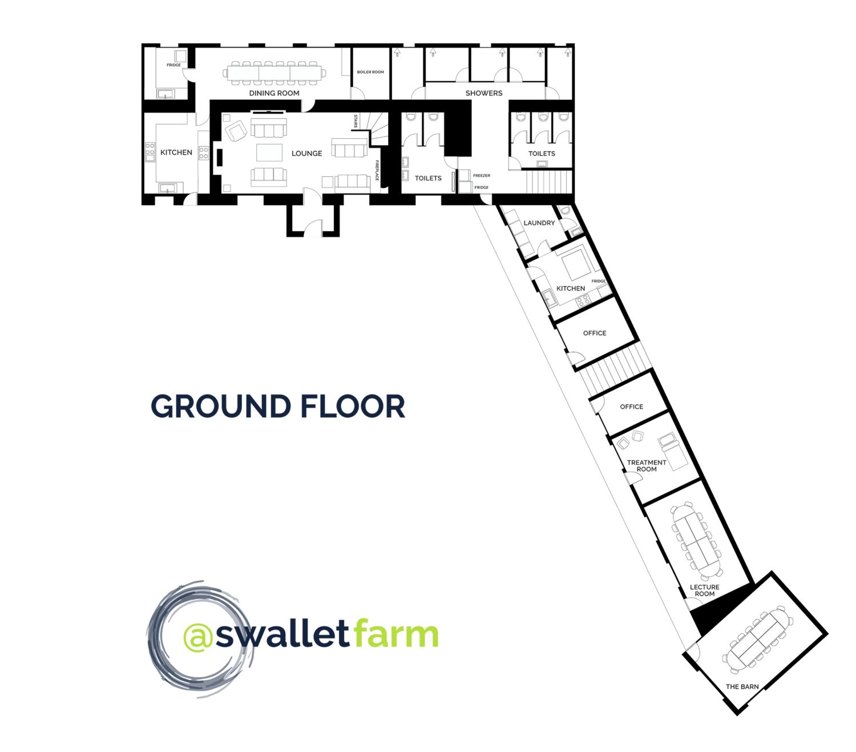 Swallet Farm Ground Floor Plan